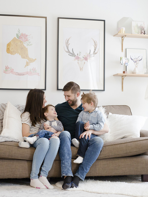 The Chandler Family's Home Session in Ottawa