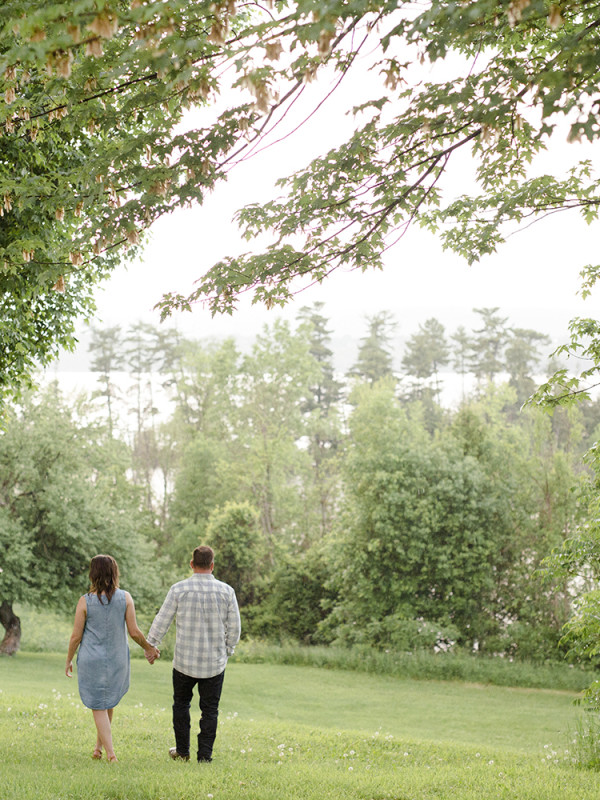 Bailey & Brendan's Engagement Session at Pinhey's Point